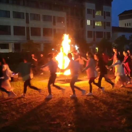 千岛湖篝火晚会