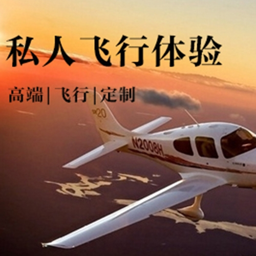 豪华私人飞机飞行体验|高端